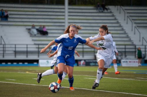 Emmond goal helps TWolves top Pronghorns 1-0