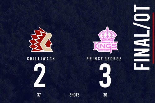 Spruce Kings down the Chiefs in OT