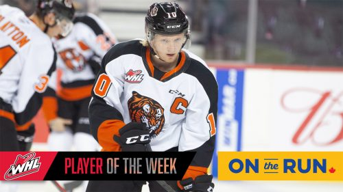 Tigers' Hamblin named WHL player of the week