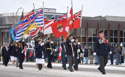 Remembrance Day ceremonies held in Prince George