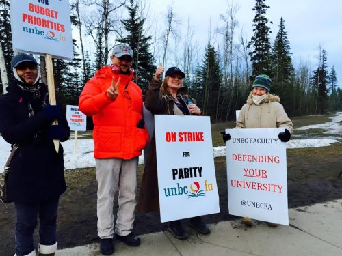 UNBC outlines offer tabled with faculty association last week